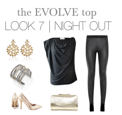 evolve top night out look