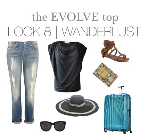 evolve top wanderlust travel clothing