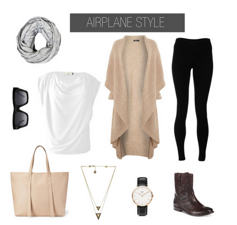 airplane outfit travel