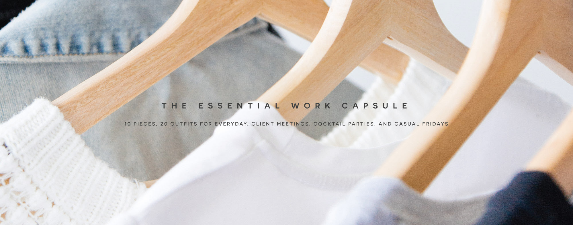 Capsule Wardrobe for the Everyday Traveler. Ethically made in Canada with sustainable and eco friendly materials.