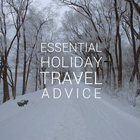 Holiday Travel Tips for the Everyday Traveler. Ethically made in Canada with sustainable and eco friendly materials.