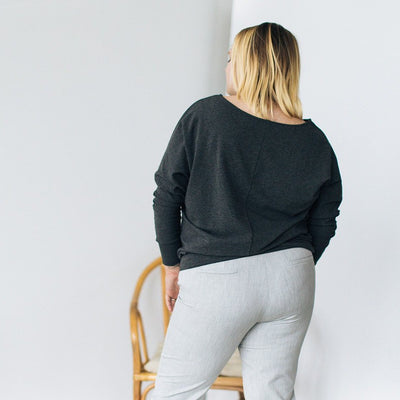 The Dressy Sweatshirt - Merino French Terry