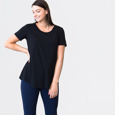 The Essential Short Sleeve Top