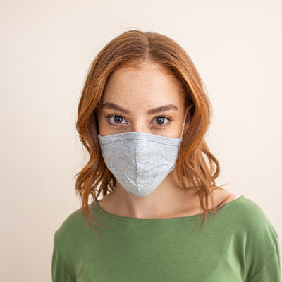 Buy a 5-Pack of Non-Medical Organic Cotton Face Masks