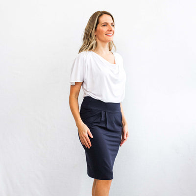 The Dressy Sweatskirt