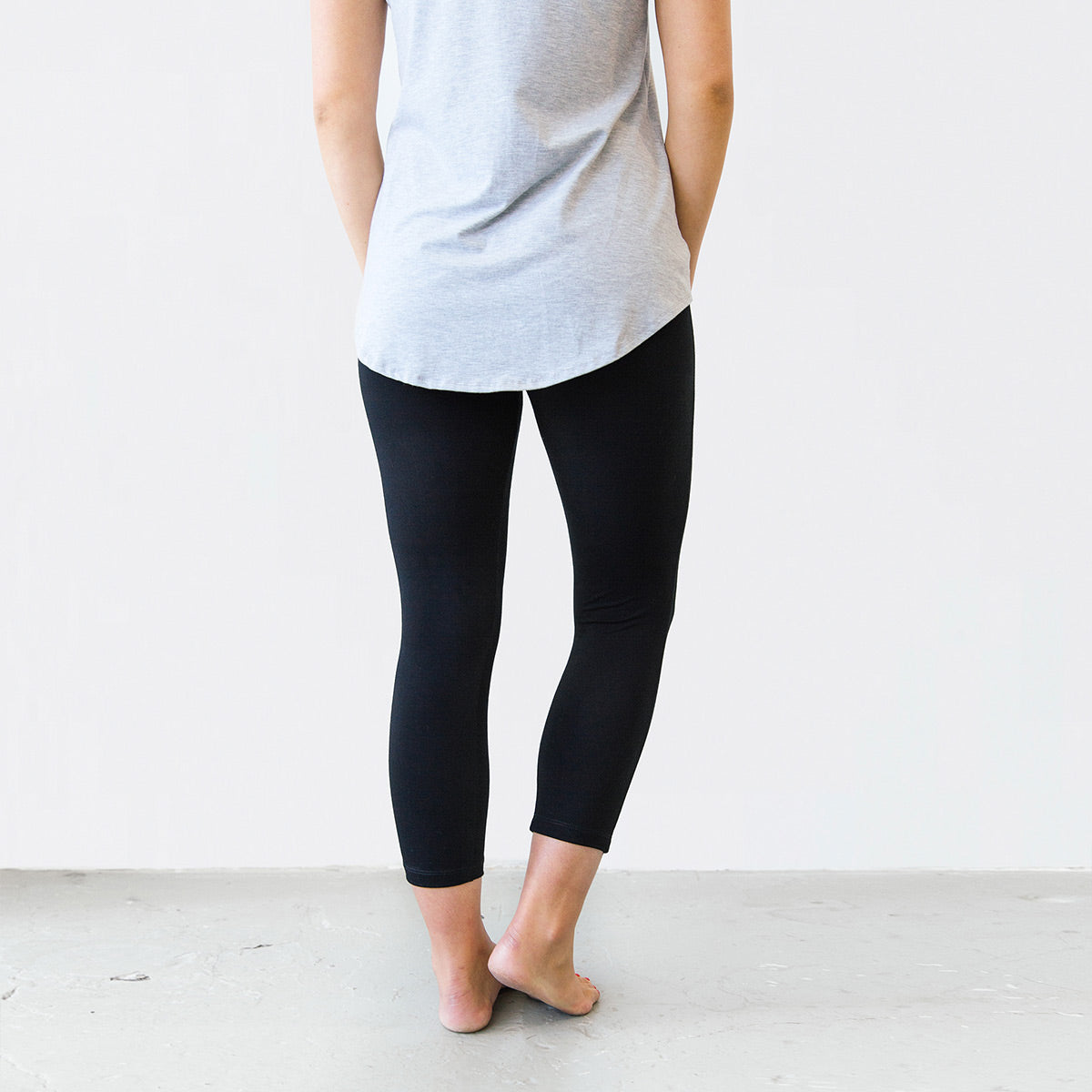 663af2ce429d0 The Minimalist Crop Legging - Cropped Women's Legging Made in Canada ...