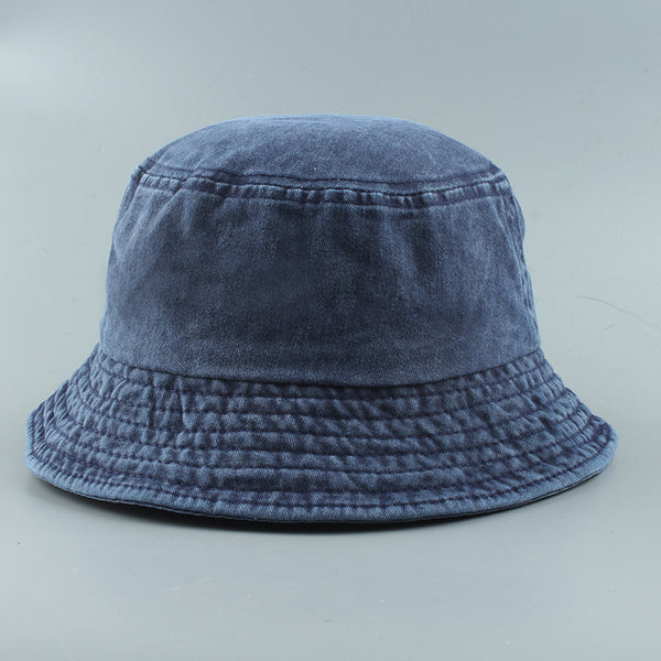 2020 New Foldable Washed Denim Bucket Hat