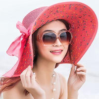 2019 Large Brim Floppy Beach Foldable Summer UV Protection Hat - Phantom Attraction