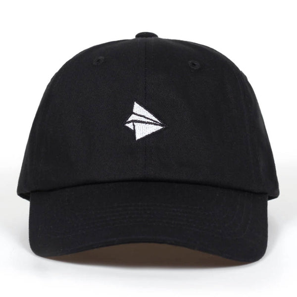 2019 Paper plane Embroidery Baseball Cap - Phantom Attraction