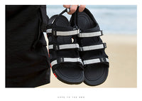 2019 Summer Men Sandals Hook & Loop - Phantom Attraction