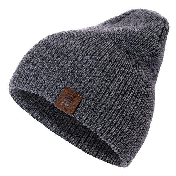 2019 1 Pcs Hat PU Letter True Casual Beanie - Phantom Attraction