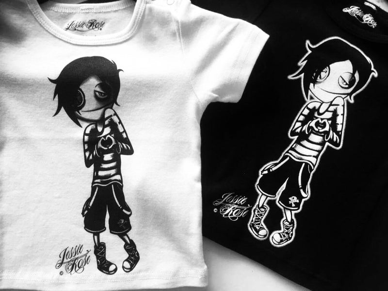 Boy Black Tiny Tot / Baby / Toddler Tee
