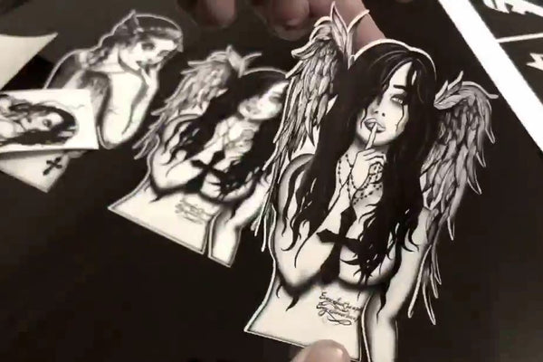 Vinyl Stickers - Fallen Angel