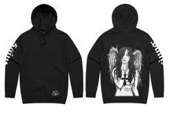 Limited edition 2019 Fallen Angel Hoodie (unisex pullover hood)