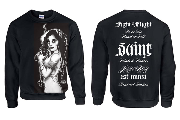 Saints & Sinners Sweatshirt - Smoking Gun