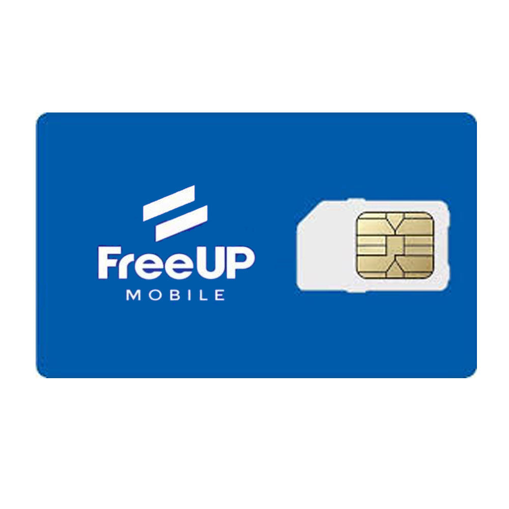 FreeUp Mobile GSM 3 in 1 SIM Card - Prepaid Masters