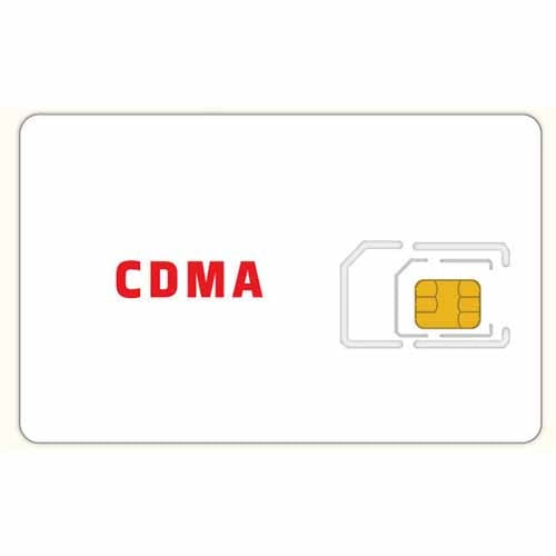 Red Pocket Mobile CDMA SIM Card 3 in 1 - Prepaid Masters