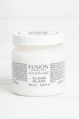 Fusion Clear Glaze 250ml - Home Revival - Fusion Mineral Paint UK