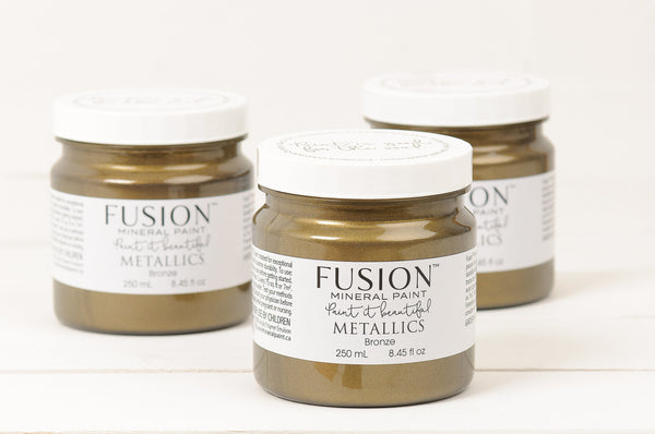 METALLIC PROJECT POT - Home Revival - Fusion Mineral Paint UK