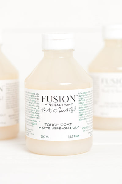 Fusion Tough Coat Matte wipe-on Poly - Home Revival - Fusion Mineral Paint UK