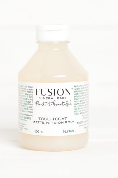 Fusion Tough Coat Matte wipe-on Poly