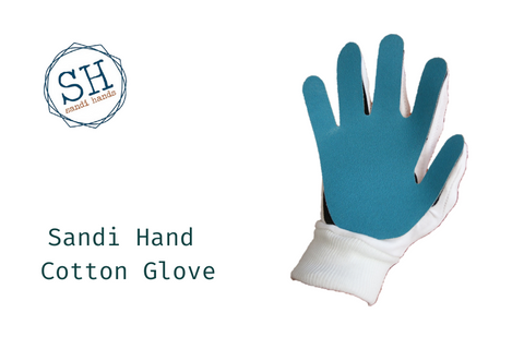 Sandi Hands Sanding Glove - Cotton glove for women - Home Revival - Fusion Mineral Paint UK
