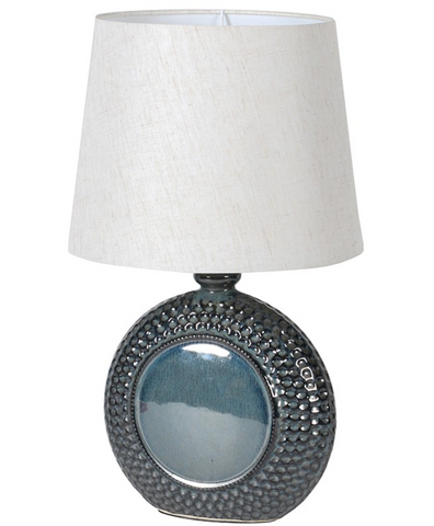 Blue Ceramic Table Lamp - Home Revival - Fusion Mineral Paint UK