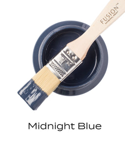 Fusion Mineral Paint Midnight Blue.