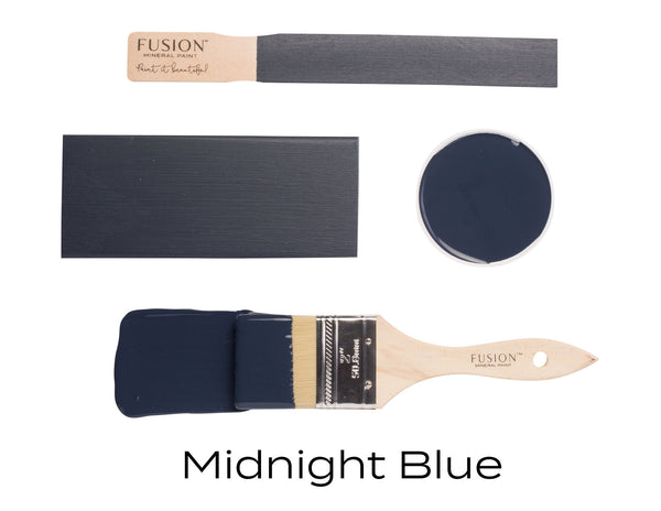 Fusion Mineral Paint Midnight Blue. - Home Revival - Fusion Mineral Paint UK
