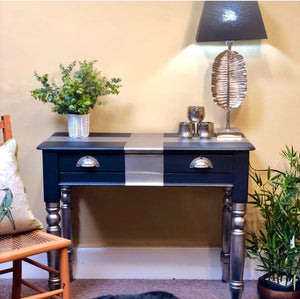 Midnight Blue desk - Home Revival - Fusion Mineral Paint UK