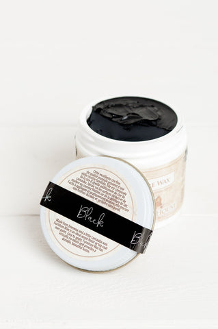 Fusion Black wax 50g - Home Revival - Fusion Mineral Paint UK
