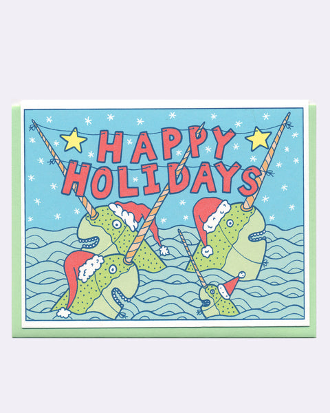 The Narwhal Holiday Card