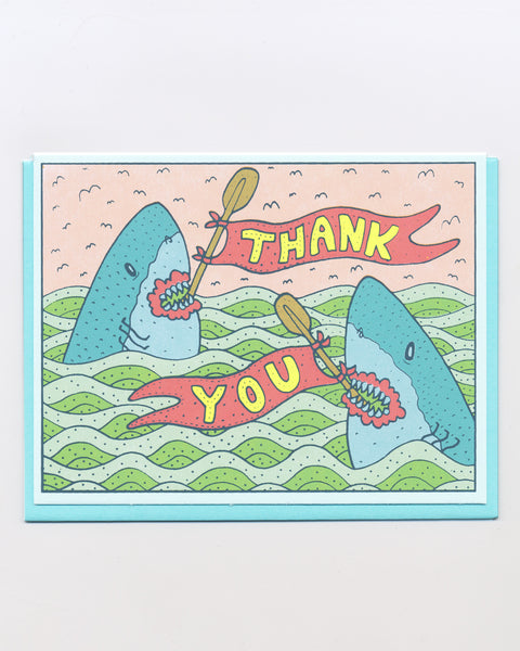 The Shark Thank You Card