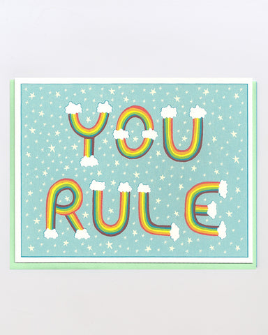 The You Rule Card
