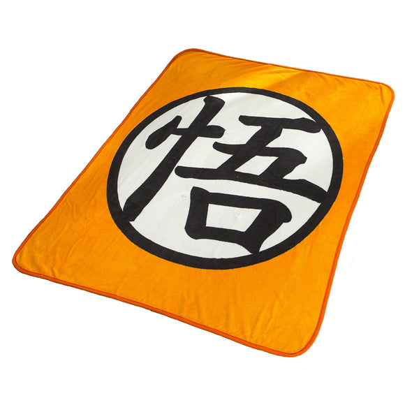 Dragon Ball Blanket Coral Fleece Flannel Wu Sign Printed Plush Sheets Cosplay Costume
