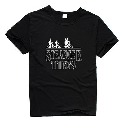 Stranger Things The Chase-Adult Short Sleeve Tee-Fandomsky