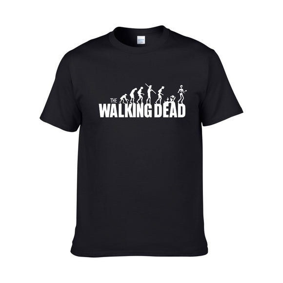 Men's Walking Dead Logo Casual T-Shirt 3 Colors-Fandomsky