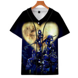 Unisex 3D Print Kingdom Hearts T-Shirt-Fandomsky