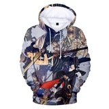 3D Unisex Hoodies Print Sweatshirts Coat Tops Zip-up Pullover Fire Emblem-Fandomsky
