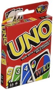 Family Funny Entertainment UNO Card Game Fun Poker Playing Puzzle Intelligence Game Tool