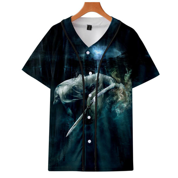 Unisex Shadowhunters Printed T-shirt Spring Summer Crewneck Short Sleeve Tops Clothes