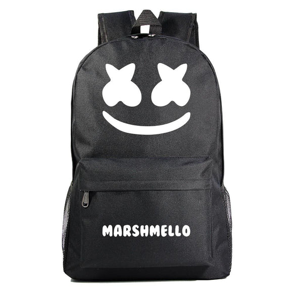 Teen DJ Marshmello Laptop Backpack Student Bag Fashion Travel Laptop Daypack Unisex Bookbag