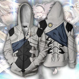 Unisex Fire Emblem Heroes Roy Corrin Hoodie Adult Halloween Zip Up Jacket-Fandomsky