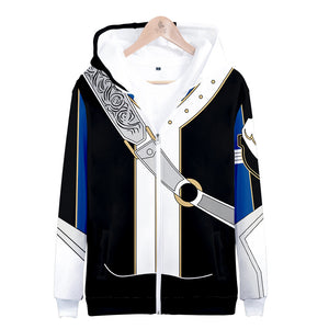Fire Emblem If Heroes Fateful Prince Roy Hoodie Hooded Jacket Sweatshirt Costume Coat-Fandomsky