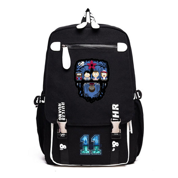 6 Styles Stranger Things ABC Backpack School Bag-Fandomsky
