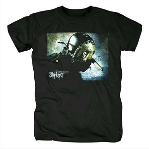 Men's Heavy-Metal-Band-Slipknot- Tee Shirt