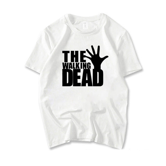 The Walking Dead Zombie Hand Logo Men's T-Shirt-Fandomsky