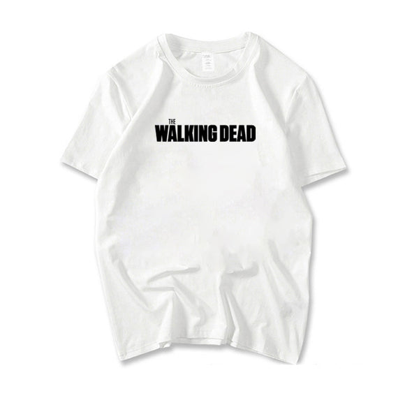 The Walking Dead Logo Casual T-Shirt-Fandomsky