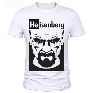 Breaking Bad Heisenberg - Mens Cotton T-Shirt