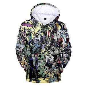 3D Print Unisex Anime JoJo's Bizarre Adventure Hoodie Hooded Sweatshirt Costume-Fandomsky